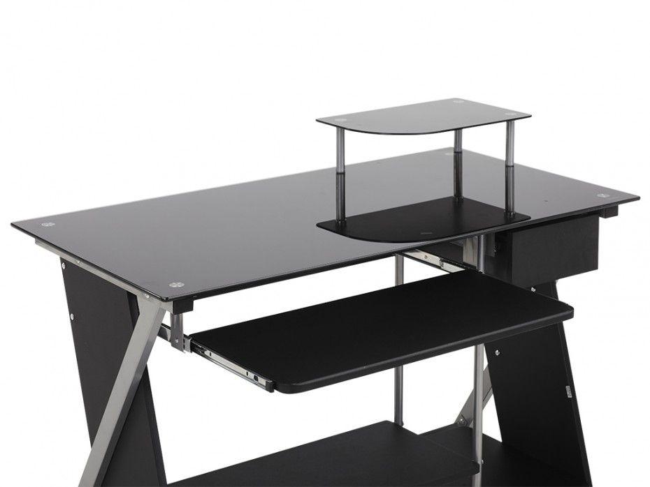 Bureau en verre but bureau en verre noir bureau but abi table