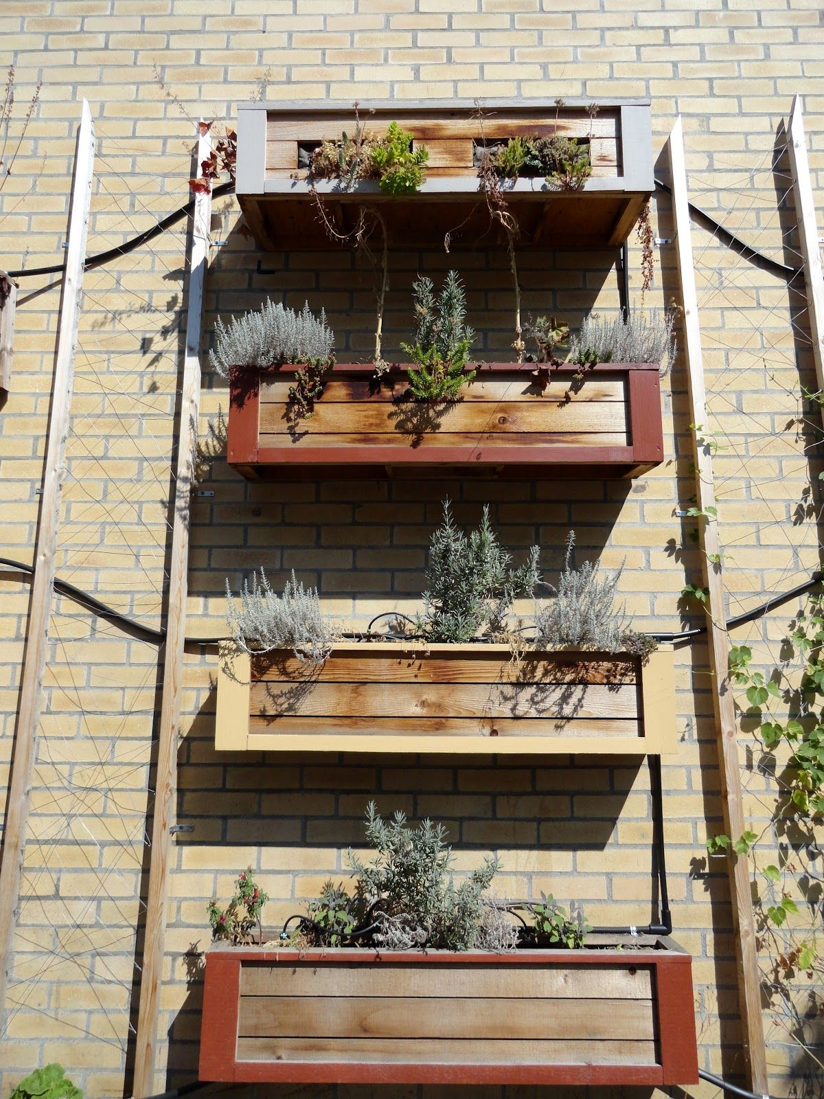 Wall Flower Boxes Window And Planter Boxes Planter Boxes Wall