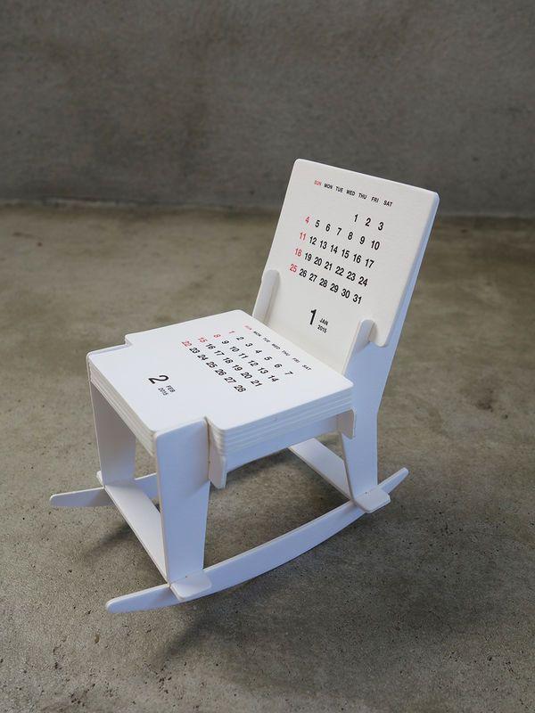 2015 Rocking Chair Calendar by good morning inc.