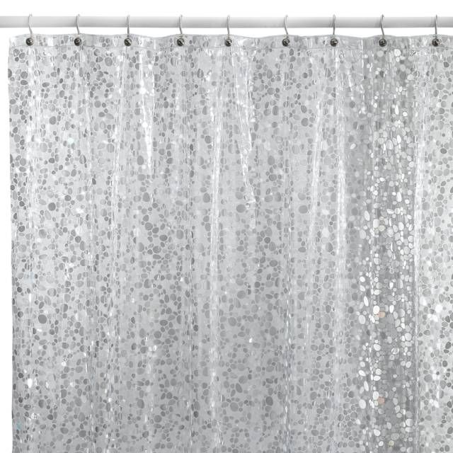 product image for Pebbles Shower Curtain in Clear | New bathroom ...