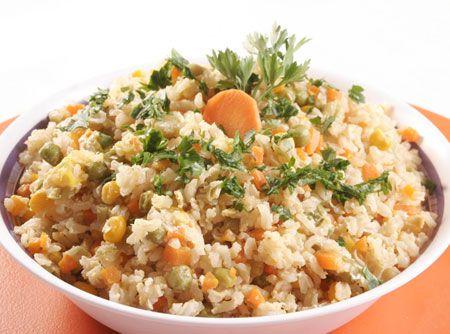Arroz Grega Vegetariano Veja Mais Em Http Www Cybercook