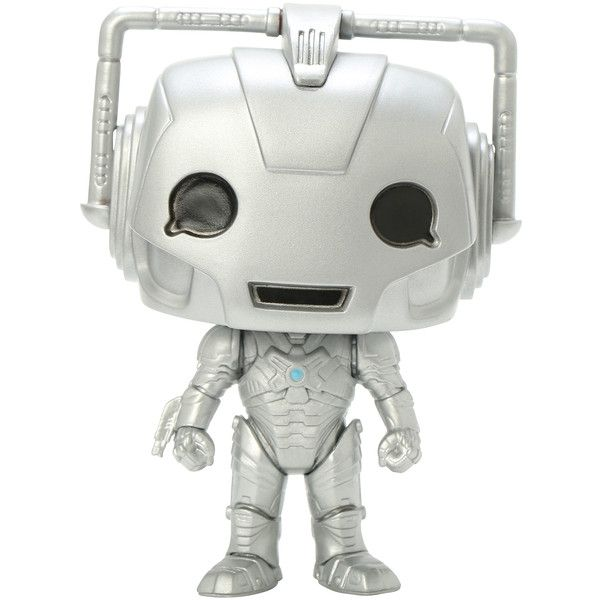 Funko Doctor Who Pop! Television Cyberman Vinyl Figure Hot Topic... ($18) ❤ liked on Polyvore featuring doctor who
