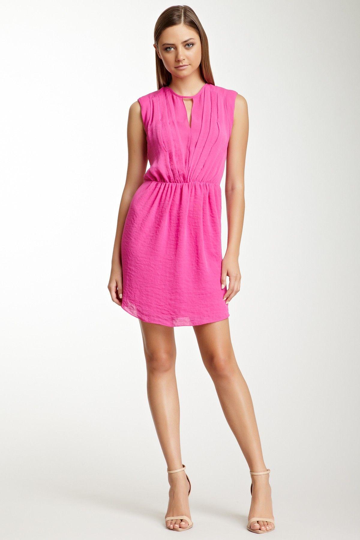 Pink crepe dress | Dress | Pinterest | Mi estilo, Molde y Vestiditos