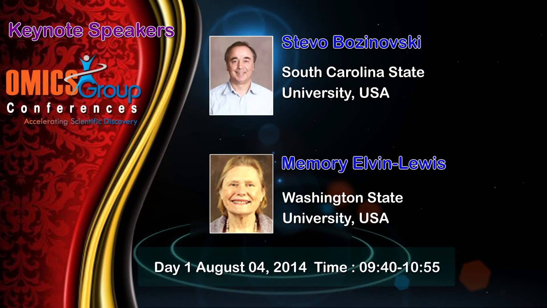 2nd International Summit on #Integrative Biology August 04-05, 2014 Chicago, USA