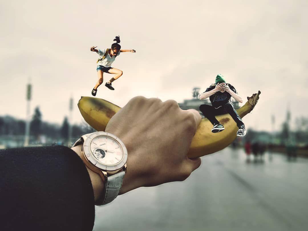 Необычные креативные интересные идеи обработки фото для ...
