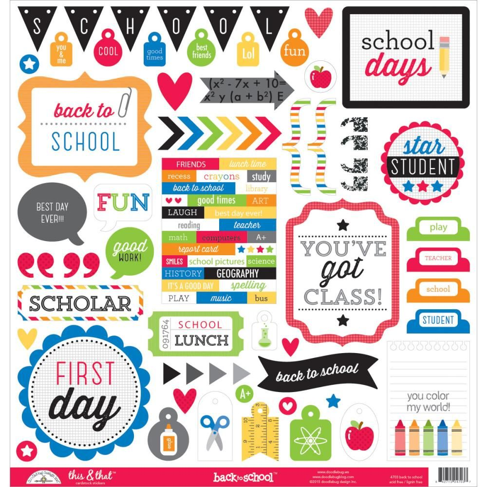 School Book Cover Stickers : Stickers for school google search pinterest
