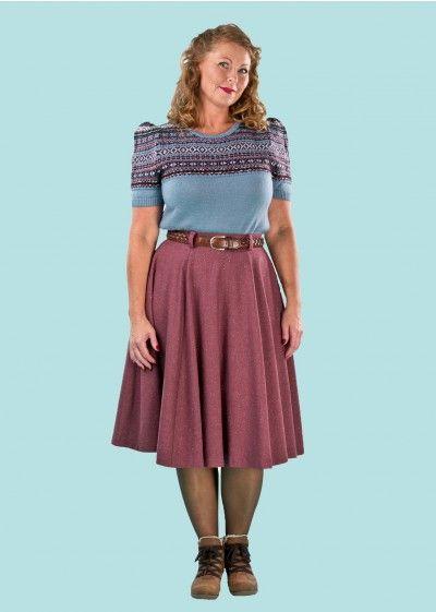 Emmy Design: The sweetest Swing Skirt