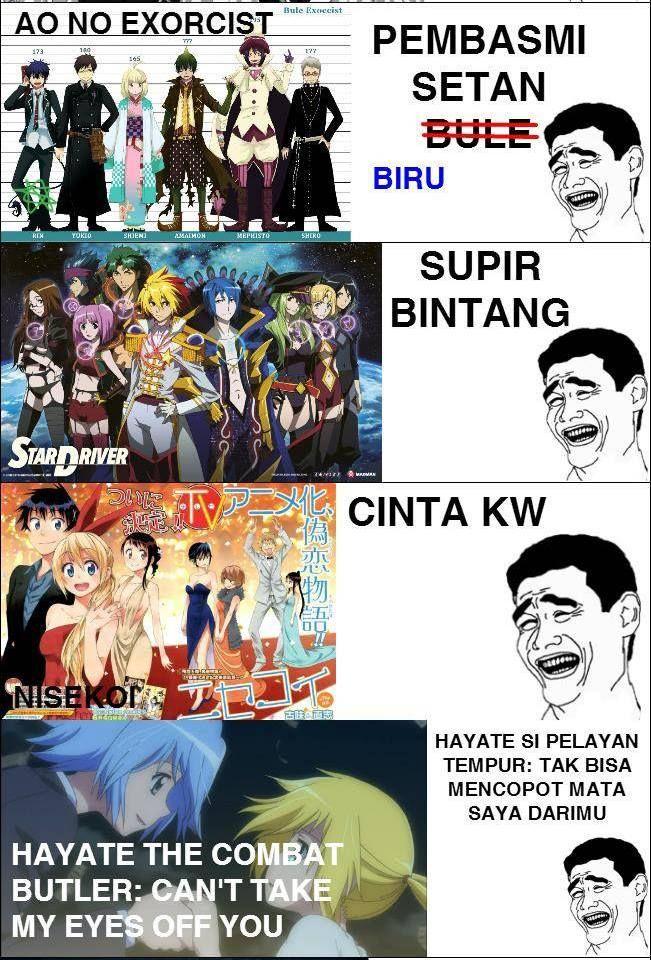 76+ Gambar Meme Anime Lucu