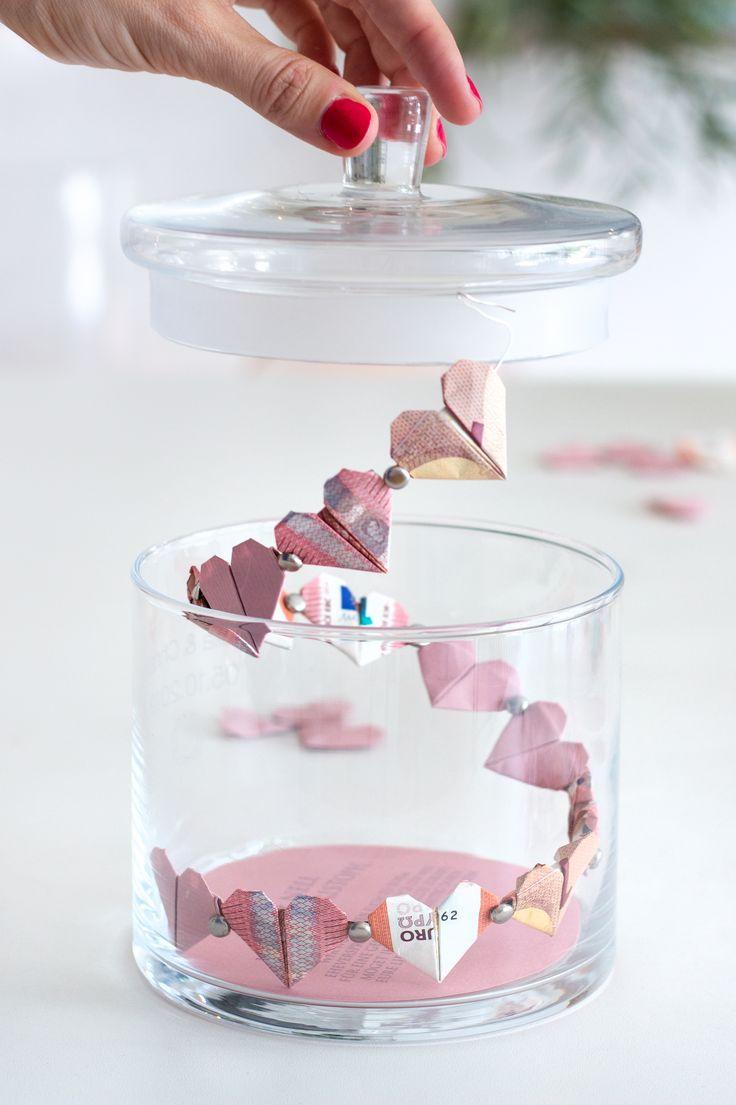 Drei wunderschöne DIY Geldgeschenke zur Hochzeit #weddinggift