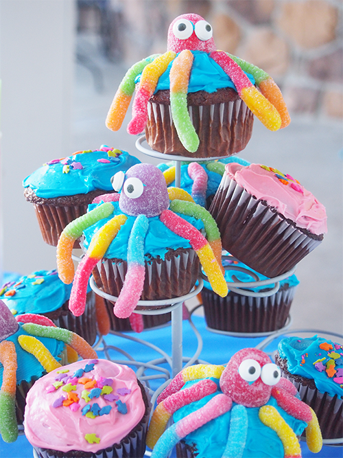 Cupcake Under the Sea arts and crafts Pinterest Birthdays