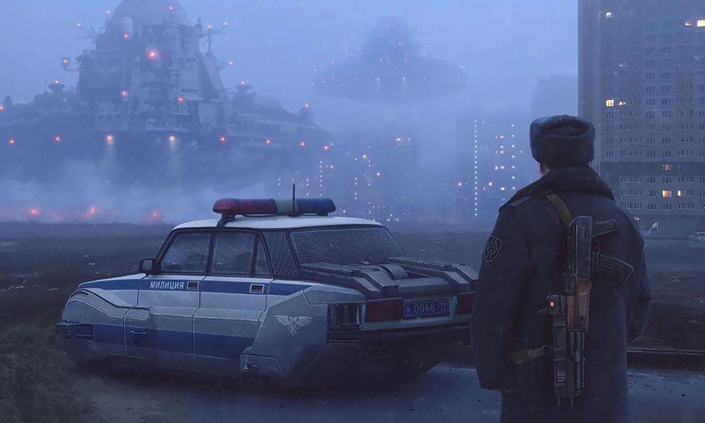 Russia 2077: Look Into The Close Cyber Future By Evgeny Zubkov | Теневые картинки, Киберпанк, Фантастика