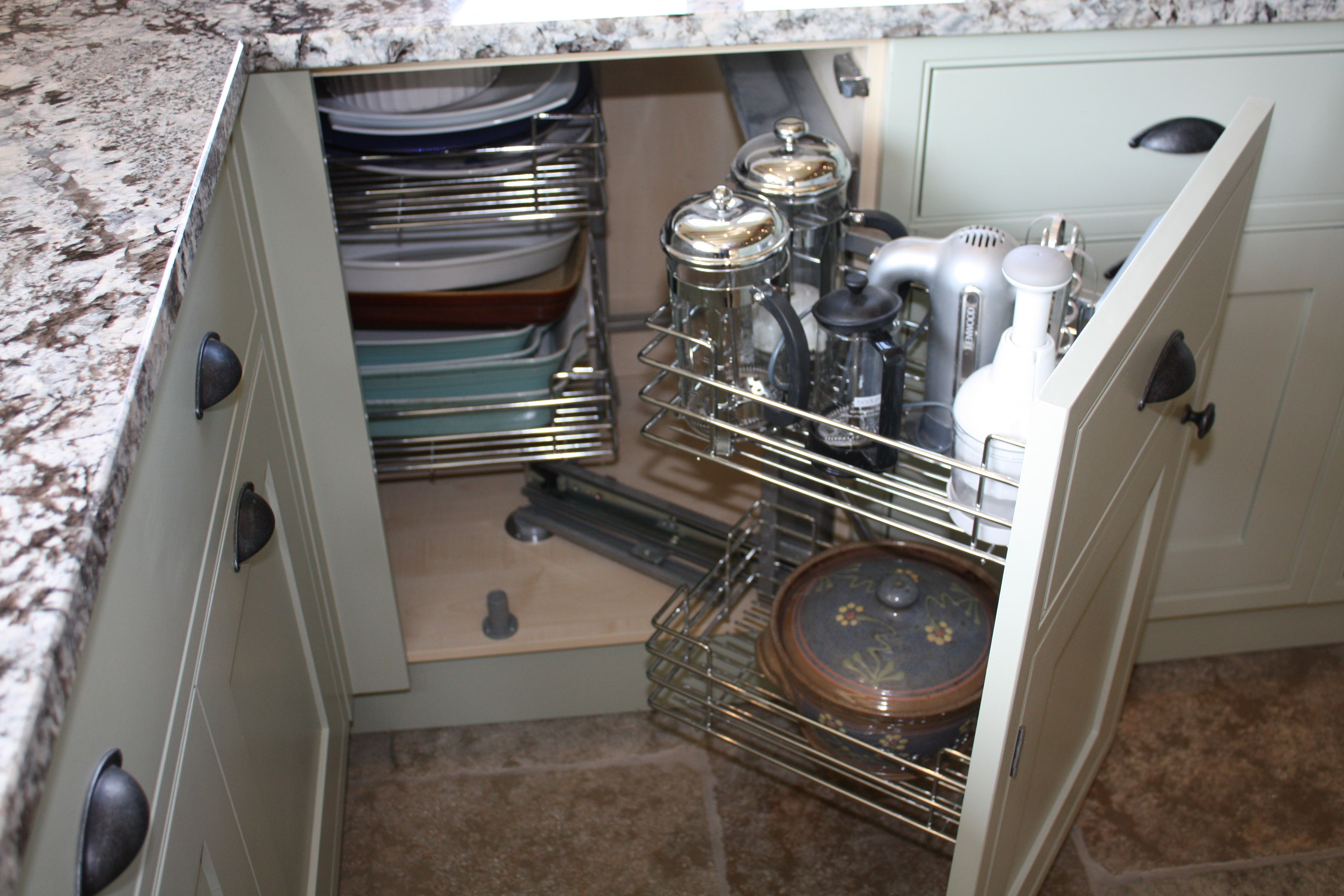 Kitchen Cupboard Storage Ideas Part - 27: Corner Kitchen Cabinet Storage Ideas - Google Search