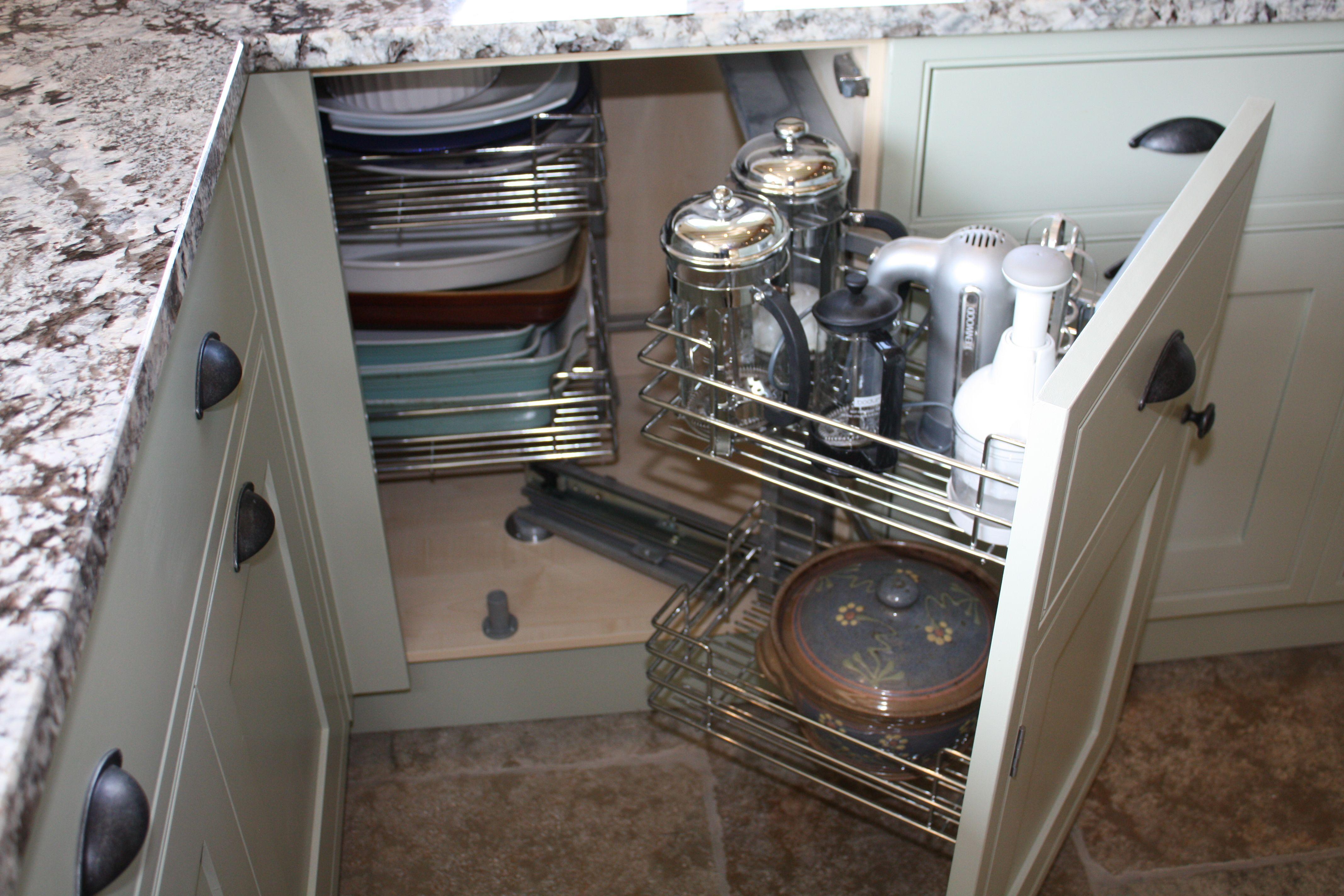 corner kitchen cabinet storage ideas - Google Search | Remodel ...