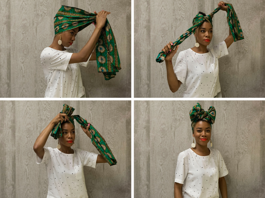 Coiffure Afro Bandeau How To Tie A Headwrap In Four Fabulous Ways Beauty