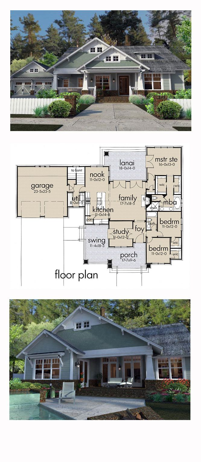 Best Selling House Plan 75137   Total Living Area: 1879 sq. ft., 3 bedrooms and 2 bathrooms. #bestselling