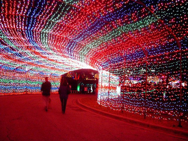 Trail of Lights Tunnel in Austin