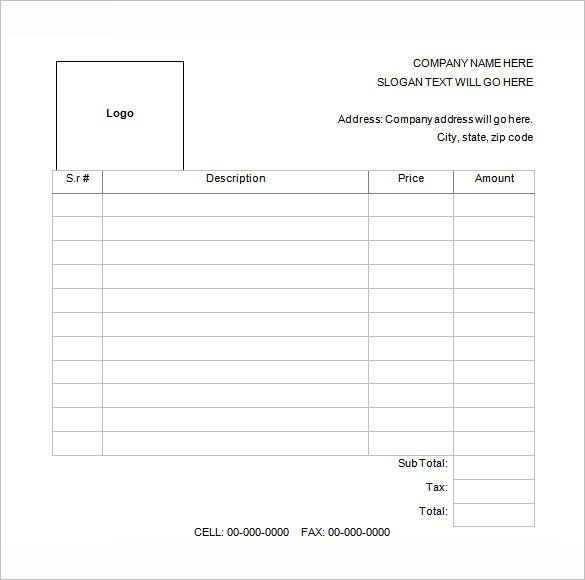 receipt template free sample example format download order form - name and address template