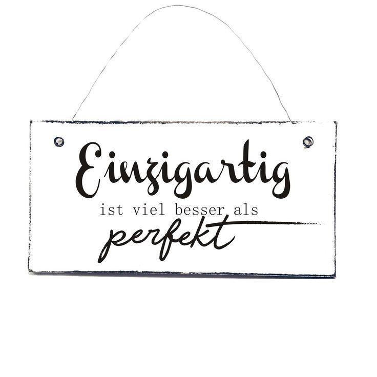 Photo of Buchstaben & Schriftzüge – EINZIGARTIG Spruchschild Türschild Holzschild – ein…