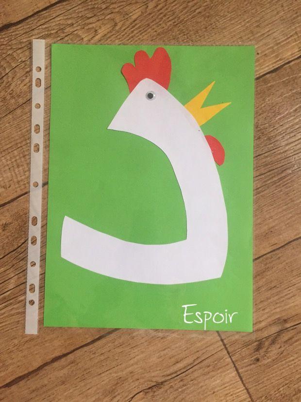 تفعيل حرف الدال د ديك دجاجة نشاط اطفال تمهيدي Alphabet Activities Preschool Arabic Kids Letter A Crafts