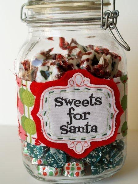 2013 christmas candy jar decor christmas glass candy jar for Christmas glass jar decorations
