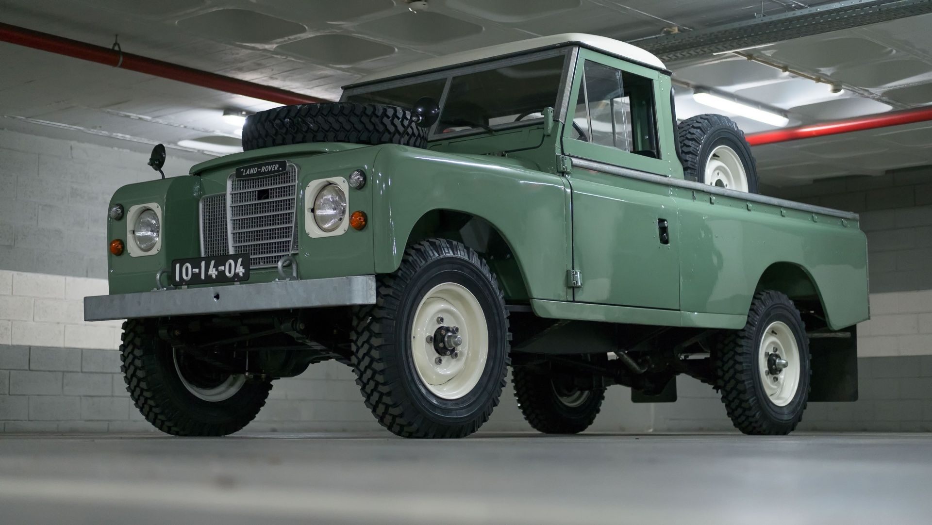 1971 Land Rover Series 1 3 Series 3 Pickup Classic Driver