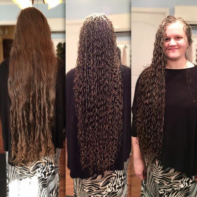 how to get spiral curls on short hair men