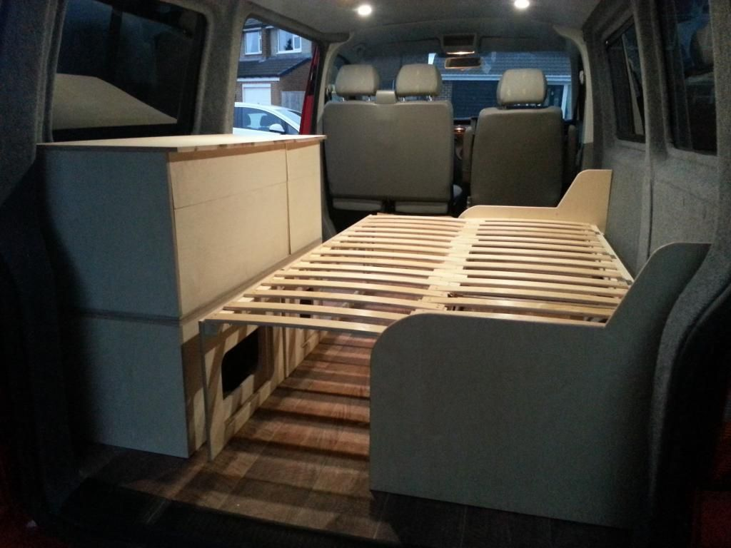 Ausziehbett Transporter 49 Stunning Layout Interior Vw Camper Travel And Camper