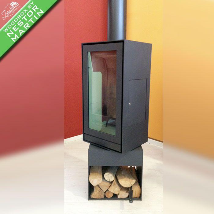 Installazione di una stufa a legna Nestor Martin TQH13 presso lo ...