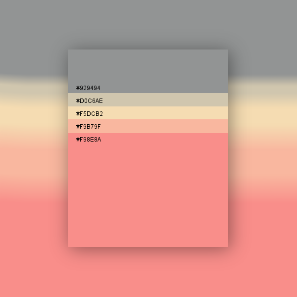 Pastel Color Palette: Palette Graphique Pastel 3
