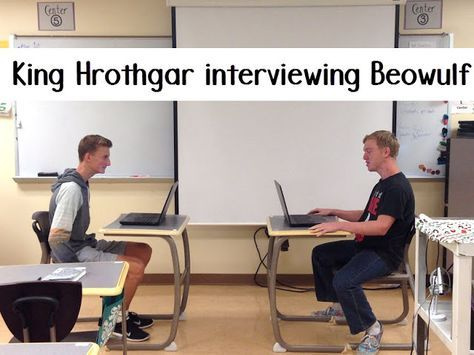 King Hrothgar Interviewing Beowulf A Fun Activity To Use