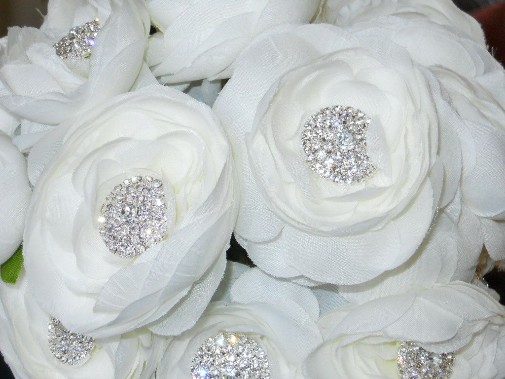 wedding bouquet bling bridesmaid wedding bouquet bling bouquet with white 8443