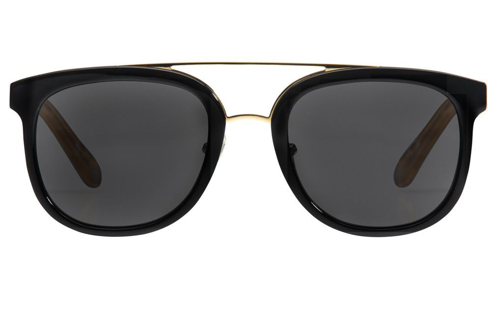 5ad22b8427 2016 Ray Ban Sunglasses only 12 USD. CL 10 Black Matte Champagne Polarized  Sunglasses Front View