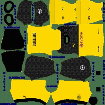 Borussia Dortmund 2020 21 Dream League Soccer Kits In 2020 Borussia Dortmund Dortmund Soccer Kits