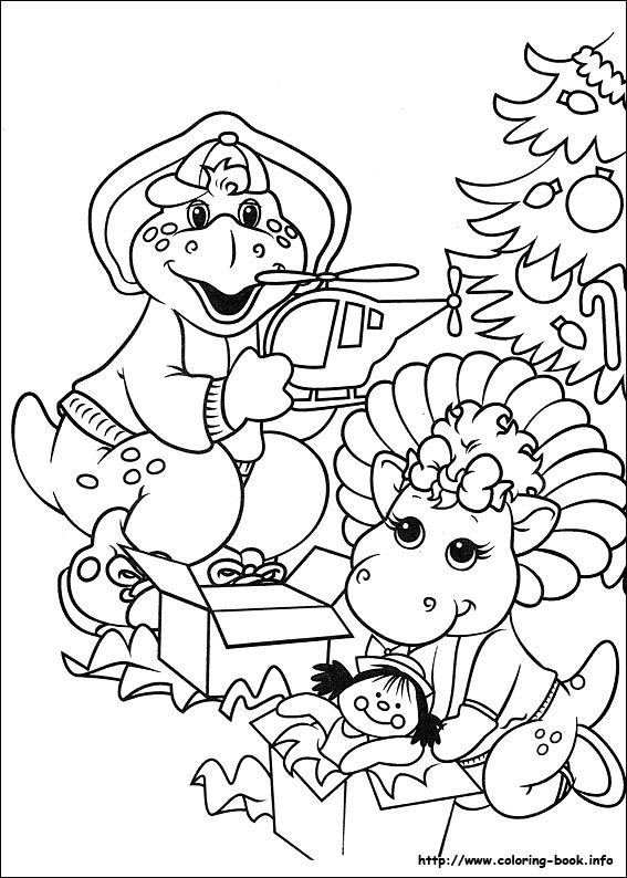 baby bop and bj christmas morning coloring page christmas - fresh dltk birds coloring pages