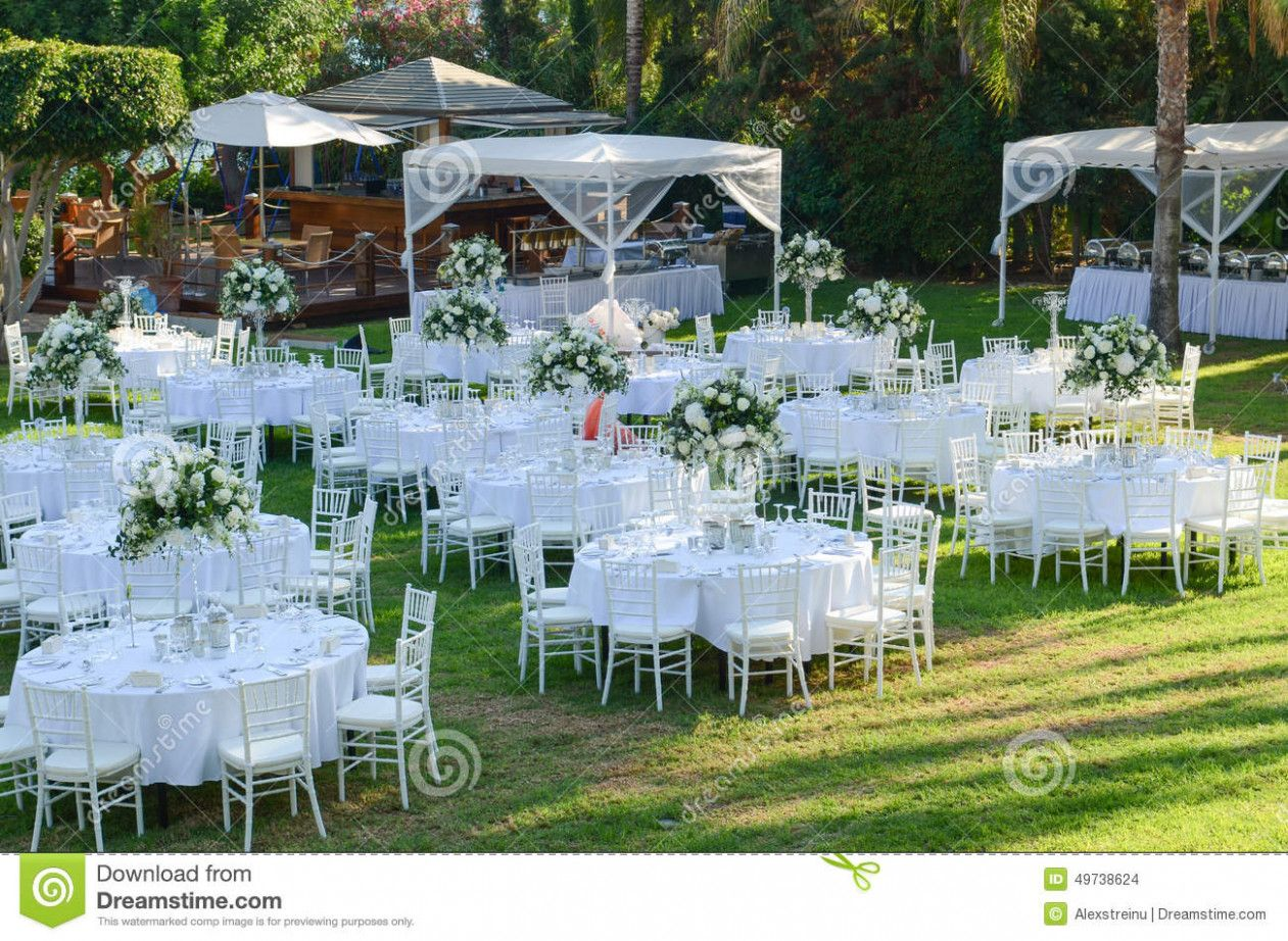 Simple Wedding Outdoor Reception Ideas