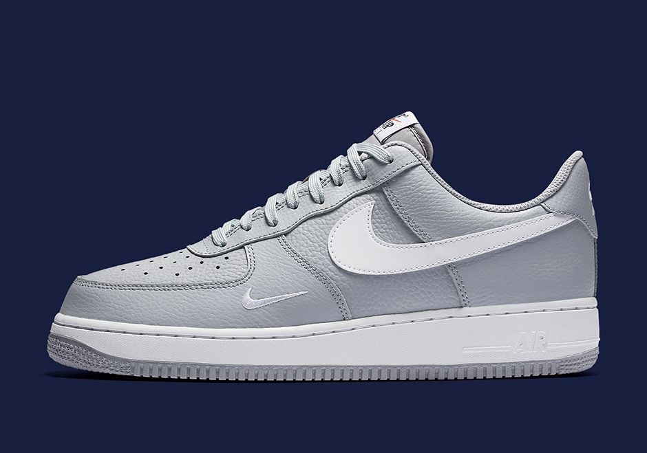 save off 515d0 bc6d4 The Nike Air Force 1 Low Mini Swoosh Collection will release Summer 2017  featuring an updated mini-Swoosh branding on the midfoot in 3 colorways.  More