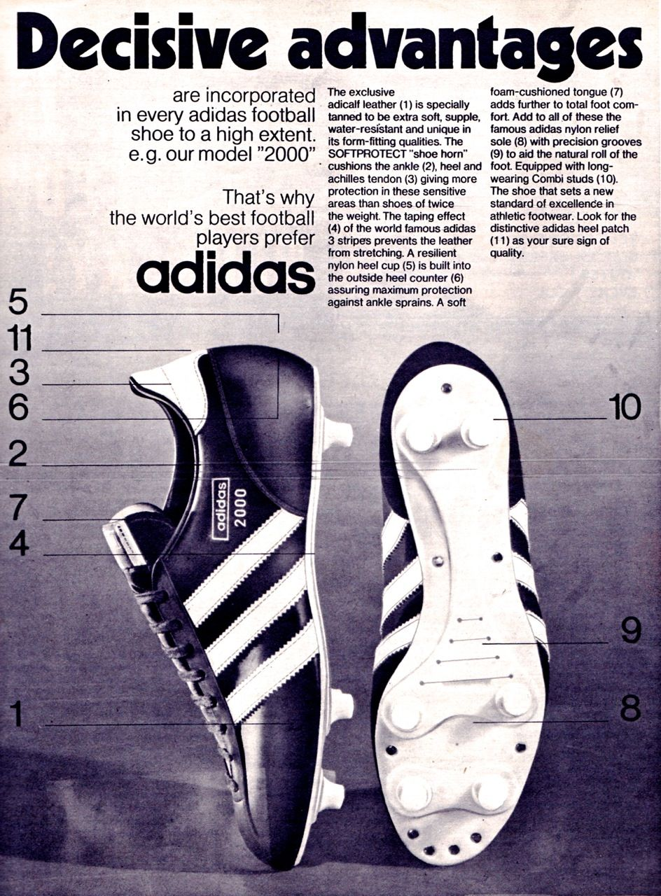 Adidas 2000 My Favourite Football Boots In The Early 70 S Adidas
