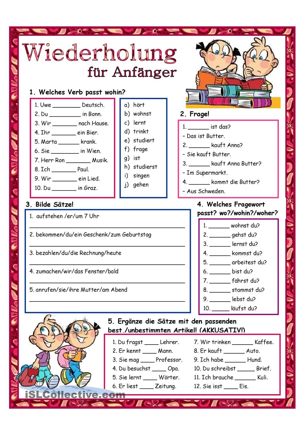 Wiederholung_3 Mehr | Schule | Pinterest | German, Deutsch and Langua…