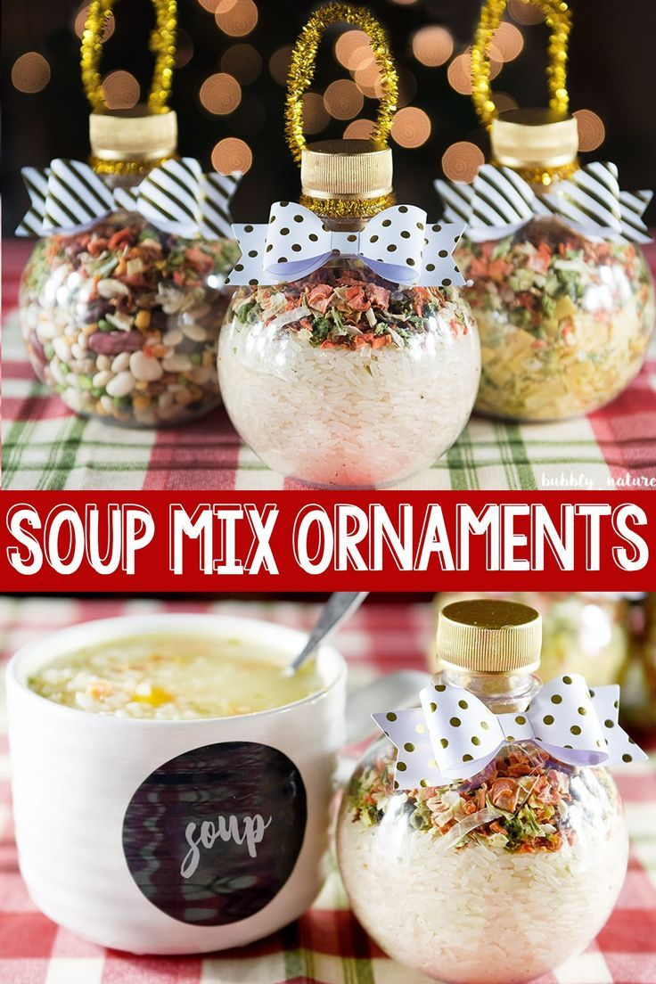 Soup Mix Ornaments ⋆ Sprinkle Some Fun