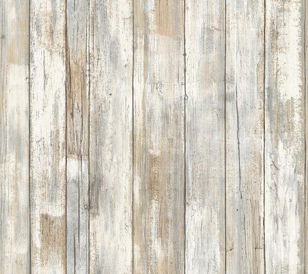 Roommates Distressed Wood Peel Stick Wall Decor Qvc Com How To Distress Wood Distressed Wood Wallpaper Wood Wallpaper