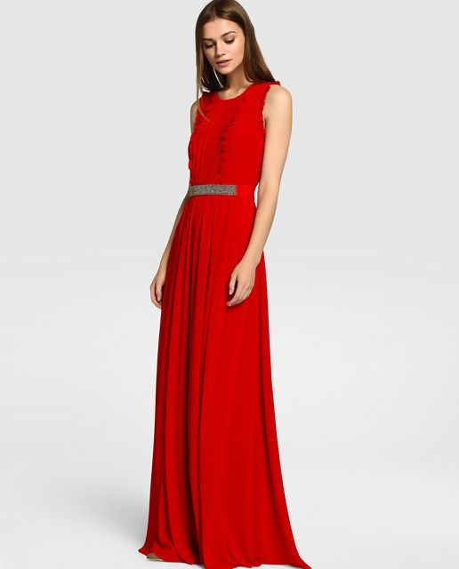 Vestido rojo tintoretto 2018