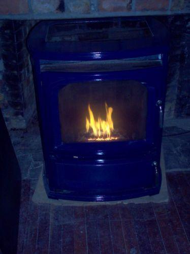 Vermont Castings Reliance Pellet Stove Cobalt Blue
