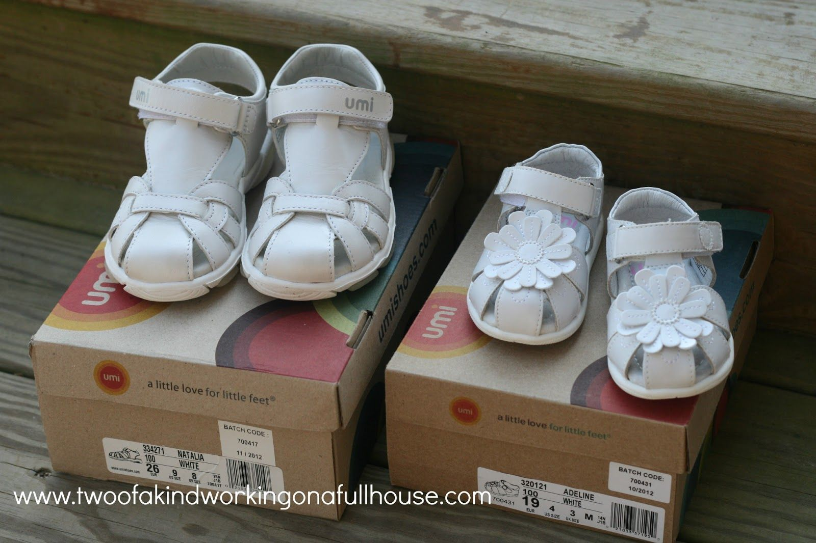 Umi Shoes - Spring \u0026 Summer Kids Shoes + Giveaway | Two of a kind ...