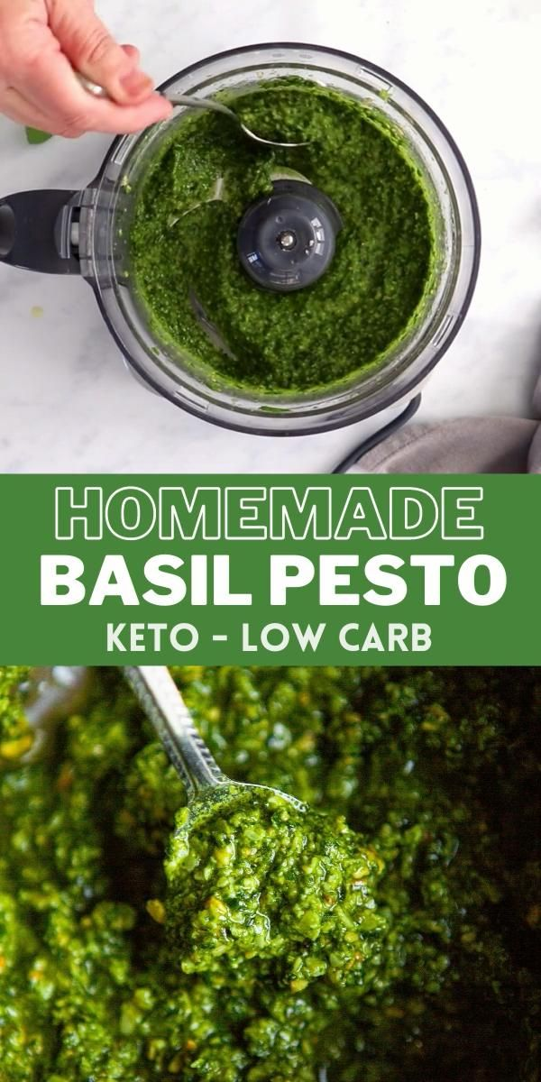 How to Make Basil Pesto Sauce!
