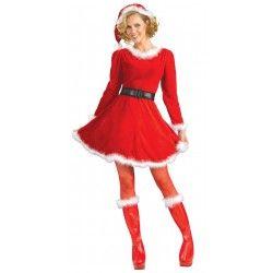 7819524f7 Mamãe Noel Fantasia Feminina de Natal