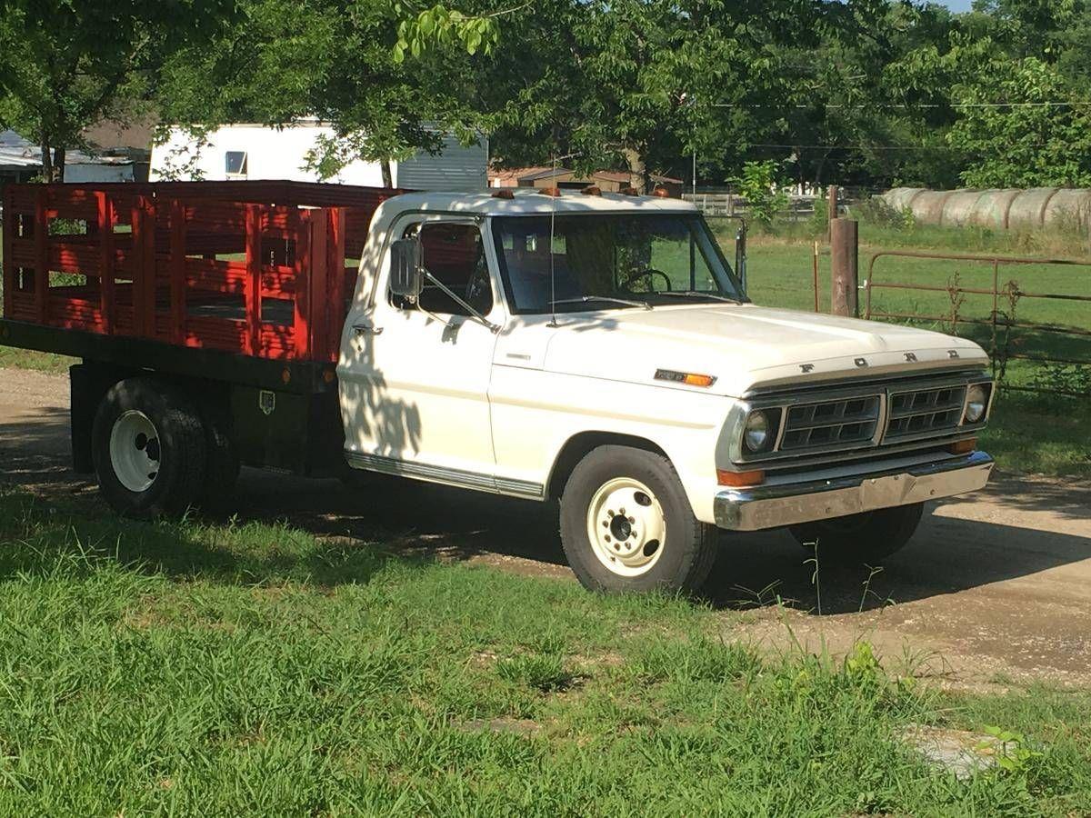 1972 Ford F350 Dump Truck Ford Pickup Trucks Ford Trucks F350