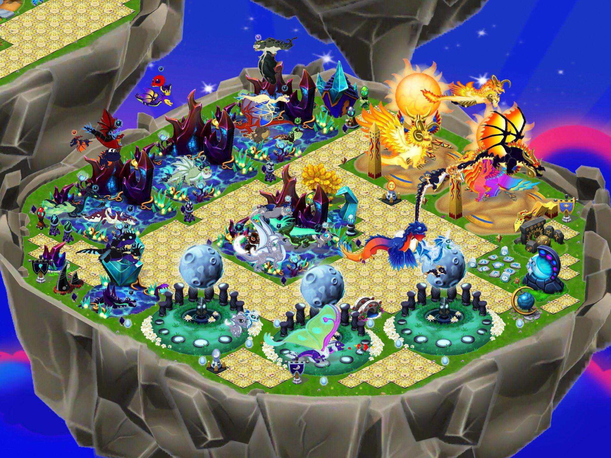 Moon And Sun Island Dragonvale 07