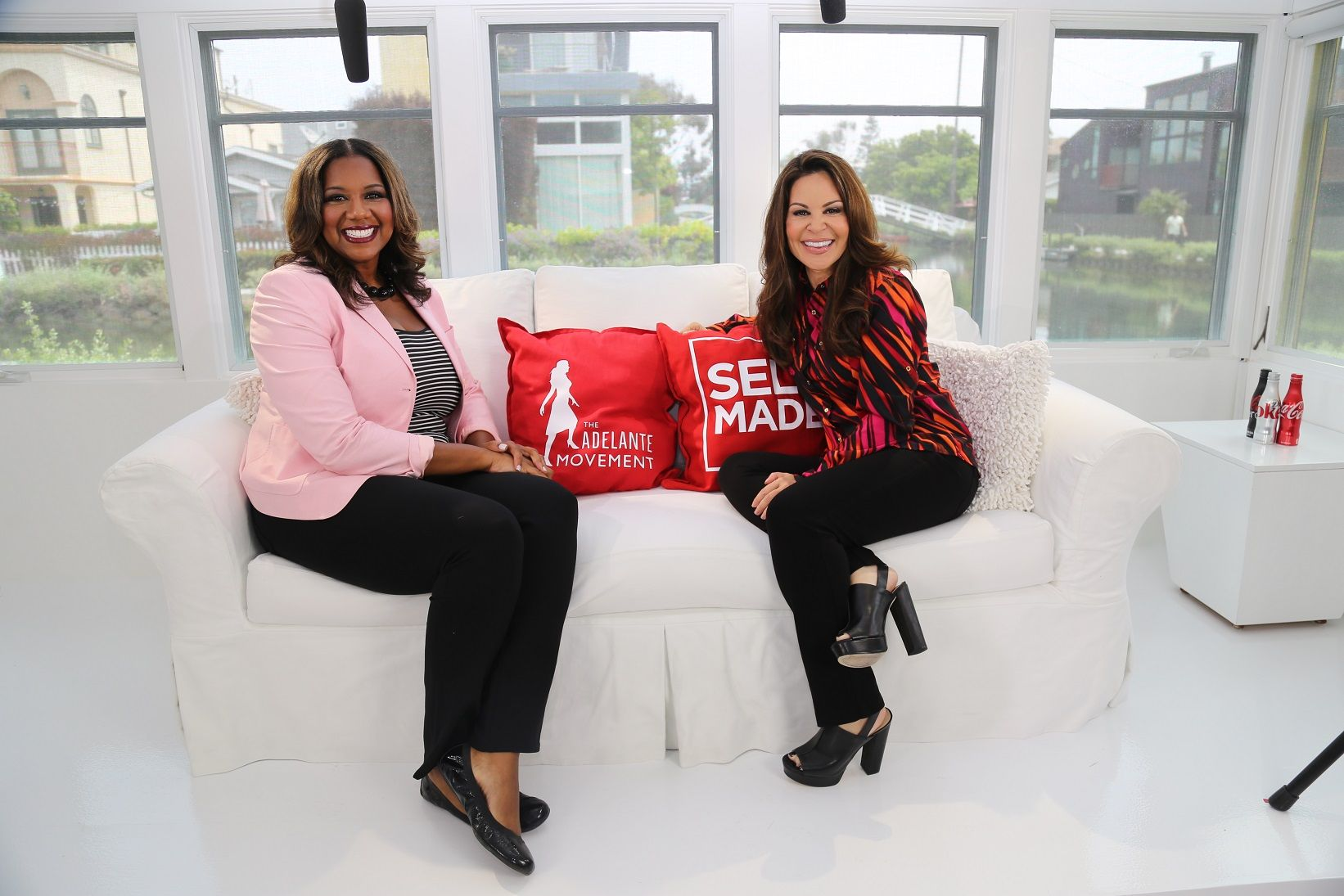 Exclusive interview with MacDonald's Franchise owner Nicole Enearu and Nely Galán of the Adelante Movement presented by Coca-Cola. #SelfMade #Adelante