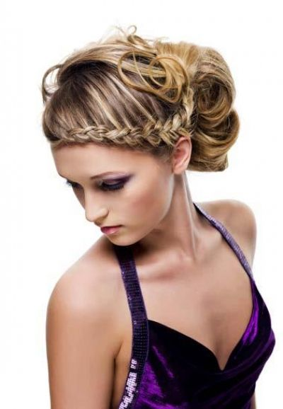Nice Hairstyles Gorgeous Beautiful Prom Hairstyle With Halo Braid And Ponytail  Prom Hair