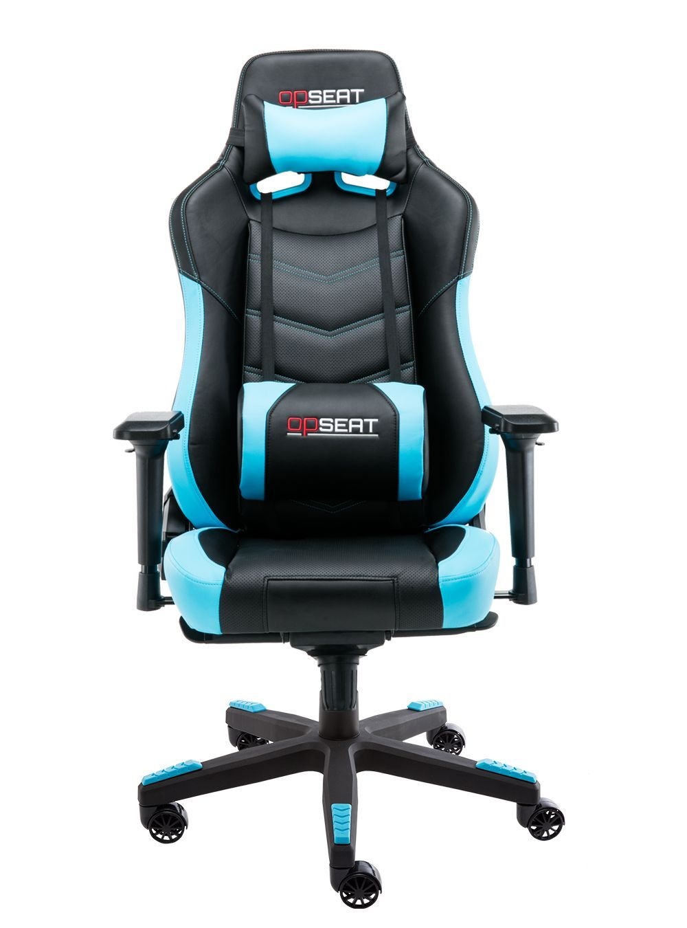Opseat Grandmaster Series Light Blue Gaming Chair Ultimate Comfort Bigger Ergonomic Design For Any S In 2020 Gaming Chair Light Blue Chair Blue Velvet Dining Chairs
